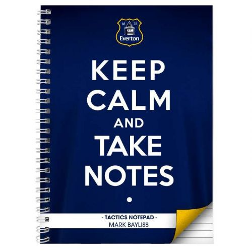 Everton Keep Calm A5 Notebook